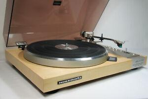 Marantz 6350Q Quartz D.D. Turntable w/Sumiko Phono Cart/ New Real Wood Veneer/EX