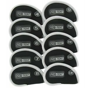 Pro-Tekt - Neoprene Iron Headcover Set 4-LW