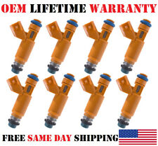 PCS *8* Genuine OEM Fuel Injectors For <2006-09> Range Rover Sport 4.4L V8