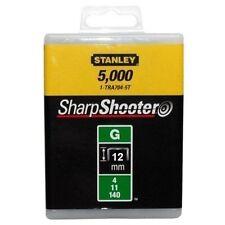 STANLEY Tackerklammern Typ G 11(5000 Stück) 12mm TRA708-5T