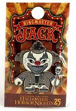 Universal Studios 2015 Halloween Horror Nights 25 HHN RingMaster Jack Pin Silver