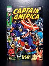 COMICS: Marvel: Captain America #112 (1969), a tribute issue - RARE