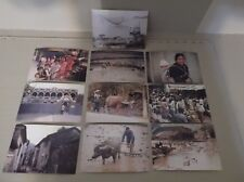 LOT OF 10 POSTCARDS ~CHINA~UNPOSTED