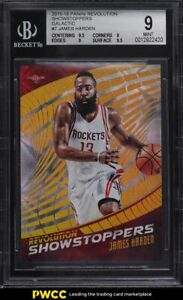 2015 Panini Revolution Showstoppers Galactic James Harden SSP #7 BGS 9 MINT