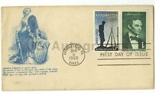Civil War Centennial - 19th Century Postal Cover w/ Stamps - Abraham Lincoln