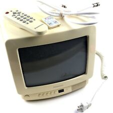 Vintage Panasonic 9 inch Color TV CT-9R11A. Antenna 2 Remotes RV Camping Kitchen
