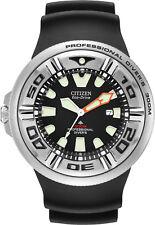 Citizen BJ8050-08E Men's Promaster Professional Diver PU Band Black Dial Watch