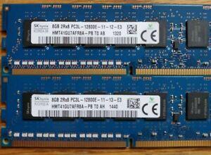 Hynix 8GB PC3L-12800E DDR3 ECC UNBUFFERED  Memory RAM HMT41GU7AFR8A-PB