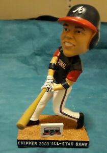 2000 Chipper Jones (Atlanta Braves) MLB All-Star Game Bobblehead, New-open box