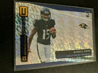 Marquise Brown 2019 Panini Unparalleled Flight #224 Rookie RC Baltimore Ravens