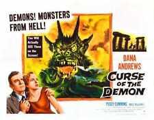 Curse Of Demon Poster 04 Metal Sign A4 12x8 Aluminium