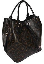 Damen-Shopper/- Umwelttaschen mit abnehmbarem Trageriemen und Reißverschluss