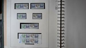 @@@ hochwertiges LINDNER Falzlos Briefmarkenalbum BERLIN mit 340 Briefmarken