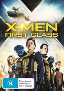 X-MEN FIRST CLASS DVD JAMES McAVOY REGION 4 NEW AND SEALED