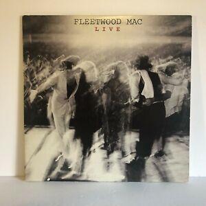 Fleetwood Mac Live 2 LP Album Set 1980 Goldisc Pressing Warner Bros 2WB 3500 VG+