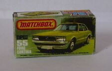 Repro Box Matchbox Superfast Nr.55 Ford Cortina
