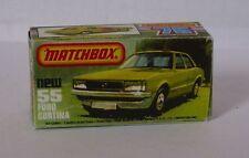 Repro Box Matchbox Superfast Nr.55 Ford Cortina