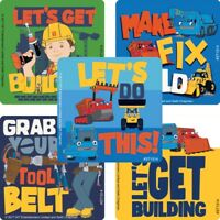 Bob the Builder Stickers x 5 - Bob the Builder Birthday Party Loot Bag Favours