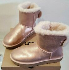 UGG ARIELLE SPARKLE WOMENS SIZE 8 ROSE GOLD BOOTS 1112090 *NIB