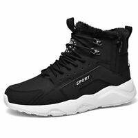 Men's Winter Cotton-padded Boots Warming Shoes Athletic Air Sneakers Large SZ