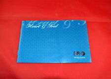 1/43 2003 MINICHAMPS FORD HEART AND SOUL BOOKLET & CERTIFICATE 100 YEARS FORD .