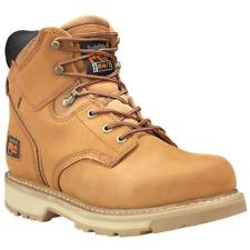 New Men's Timberland Pro 33030 Pit 6 inch soft toe waterproof wheat  Work Boots