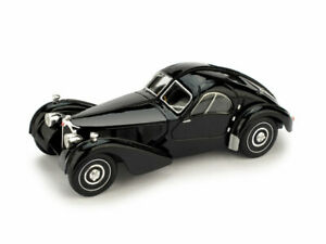 Model Car vintage diecast Brumm Bugatti Atlantic Scale 1:43 vehicles Coche