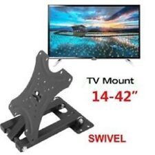"TV Wall Bracket Mount Swivel Tilt 14 21 23 26 32 37 40 42"" Plasma 3D LED LCD"