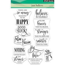 Penny Black Clear Stamps - Just Believe 30-470