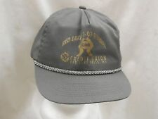trucker hat baseball cap RED LAKE COOP FEDERAL CREDIT UNION retro style nice