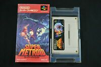 Complete Super Metroid - Rare Japanese Version - SNES - Free Tracked Shipping