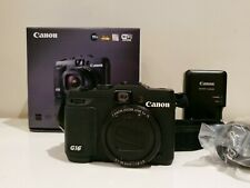 Canon - PowerShot G16 12.1-Megapixel Digital Camera - Black. is