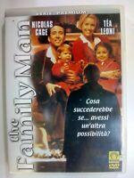 THE FAMILY MAN 2000 DVD FUORI CATALOGO NICOLAS CAGE TÉA LEONI BRETT RATNER DVD