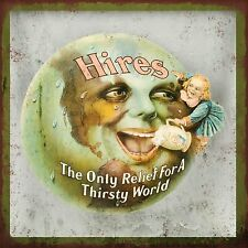 Hires Root Beer High Quality Metal Magnet 4 x 4 inches 9380