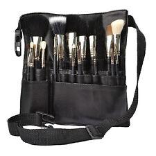 Professional 22 Pockets Cosmetic Makeup Brush Pouch Bag Artist Apron Belt Strap