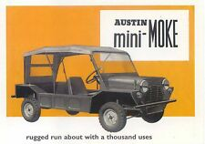 Austin Mini Moke Modern Postcard by  Vintage ad Gallery