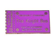 Harry Potter: Knight Bus Ticket Metall Pin - anschauen!