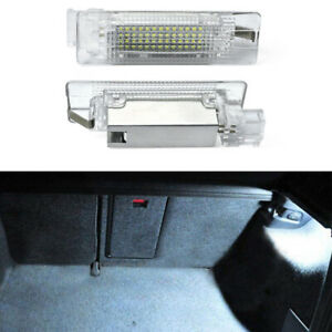 LED Luggage Trunk Compartment Lights for VW GTI Golf R R32 Passat CC Jetta Caddy