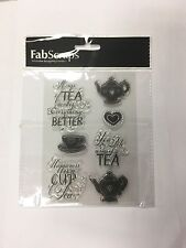 FabScraps Stamps (For The Love of Tea)