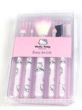 Cute Hello Kitty Make Up Brush Brushes Set 5 piece Brand New