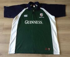 LONDON IRISH RUGBY SHIRT CCC GUINESS (MARKED SEE DESCRIPTION) VINTAGE JERSEY XXL