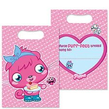 Moshi Monsters Poppet Loot Bags (Pack of 8) Birthday Party