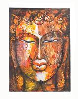 Peinture Da Budda Artista Noto Nepal Artigianale Capolavoro Unica 8479