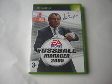 XBOX FUSSBALL MANAGER 2005 LFP  TOTAL CLUB
