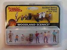 Woodland Scenics Ho #1893 - Accident Waiting to Happe