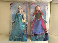 Nuevo Disney Store Exclusivo Sparkle Princesa Elsa y Anna Frozen muñecas nuevo * Para ver *
