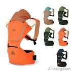 I-Angel Josh Hipseat + Hipseat Carrier 5 Colors, Ergonomic Design, Baby Wrapper