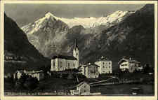 Kaprun Land Salzburg Ansichtskarte ~1930/40 Teilansicht mit Kitzsteinhorn Kirche