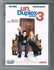 UN DUPLEX POUR 3 - BEN STILLER - DREW BARRYMORE - DVD EN BON ÉTAT