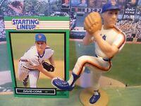 1989  DAVID CONE - Starting Lineup Baseball Figure & Card - NEW YORK METS